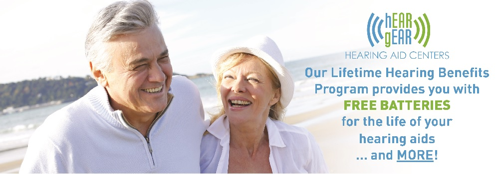hEARgEAR Lifetime Hearing Aids Benefits Banner